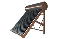 Solar water heater (ZJ-GH) - Non-pressurized Solar Water Heater